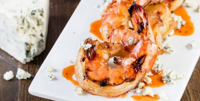 ... Summer Meats on Pinterest | Grilled shrimp, Blue cheese and Aioli