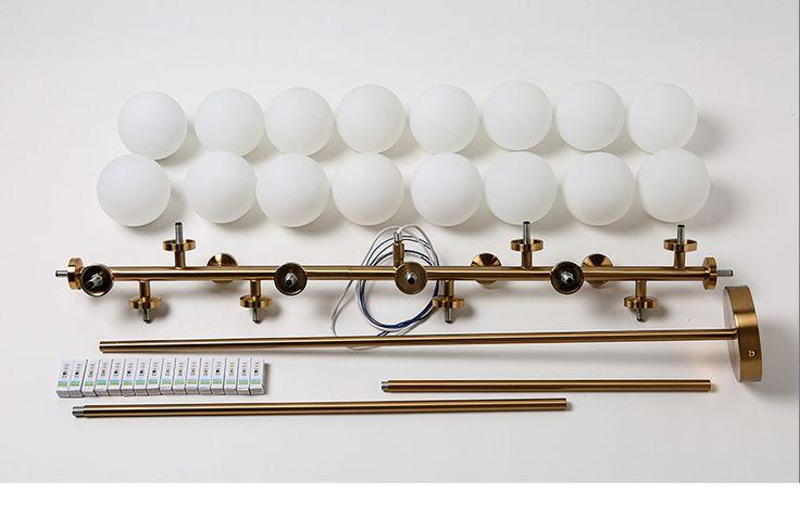 Aliexpress.com: Acheter Creative or salle à manger lustre moderne en verre lampe suspendue luminaire suspension luminaire G4X16 LED AC 85 265 V de led contrôleur de feux de circulation fiable fournisseurs sur KOLMP Quality Lighting Store
