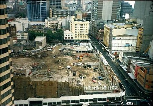 1986 destruction of Sydney icon 3    Little remains of the great Anthony Hordern & Sons Emporium in this post-1986 photo taken from the 12th floor of Roden Cutler House.    	     	           	 	     	         	            Little remains of the great Anthony Hordern & Sons Empor...
