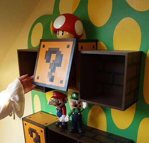 Super Mario Bedroom Decor – Mario Bedroom Decor