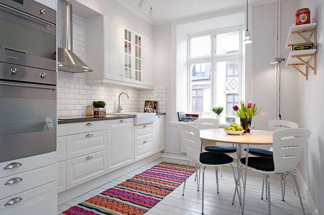 скандинавский стиль маленькая кухня - Поиск в Google