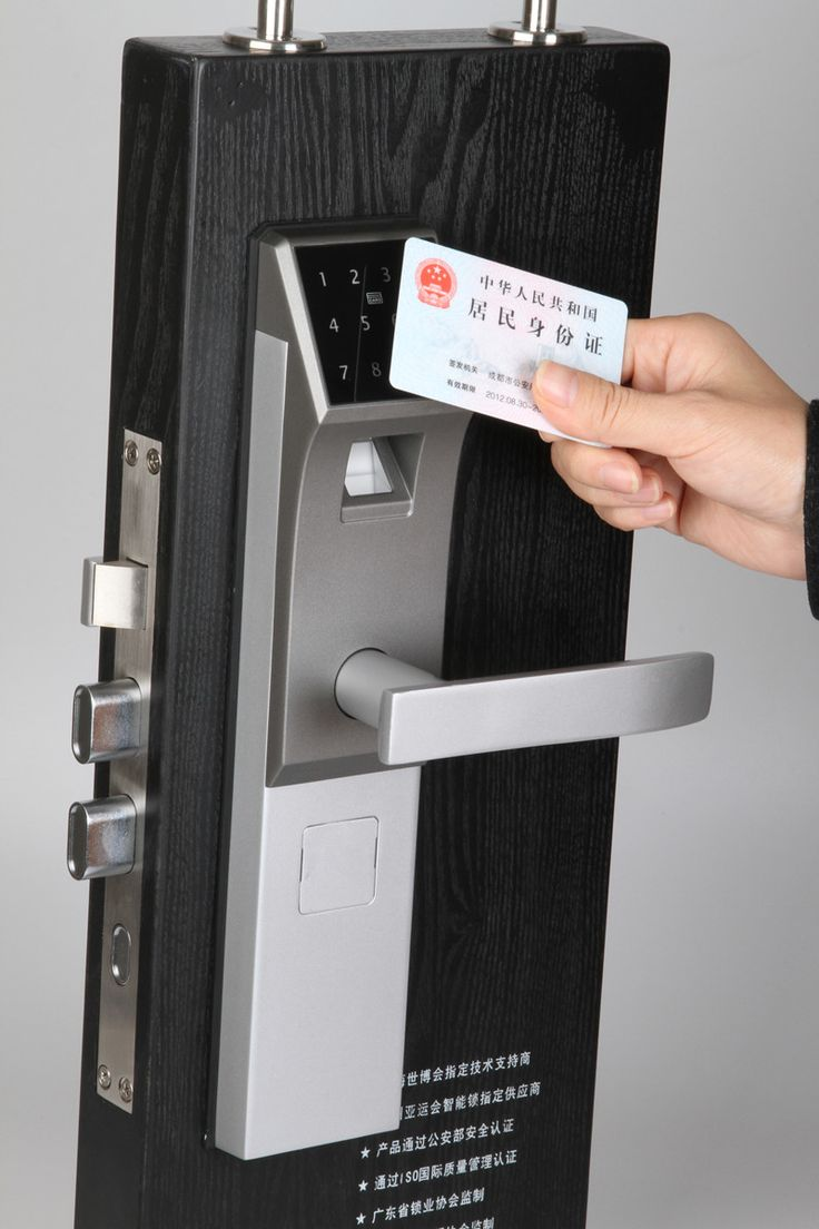 Smart Touchpad keypad digital code induction door lock digital hotel lock home lock - Smart locks - Shenzhen Qianhuilai Technology Co., Ltd #lock #smartlock #doorlock #hotellock
