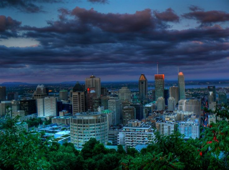 View from the Mountain - MTL