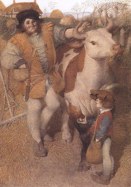 JACK AND THE BEANSTALK BY GENNADY SPIRIN