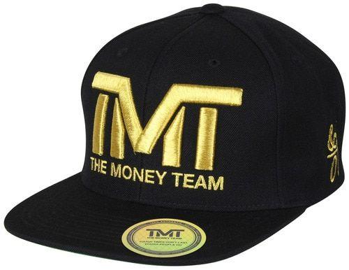 The Money Team TMT Floyd Mayweather Courtside Snapback Hat (Black/Gold)