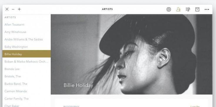 voltra, un reproductor de música con tienda online incorporada