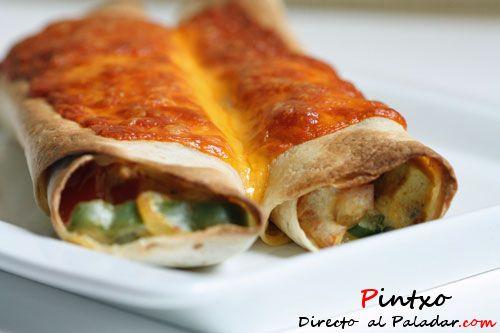 Tortillas mexicanas de tofu. Receta paso a paso con fotos de los ingredientes y de la elaboración. Con trucos y consejos de preparación...