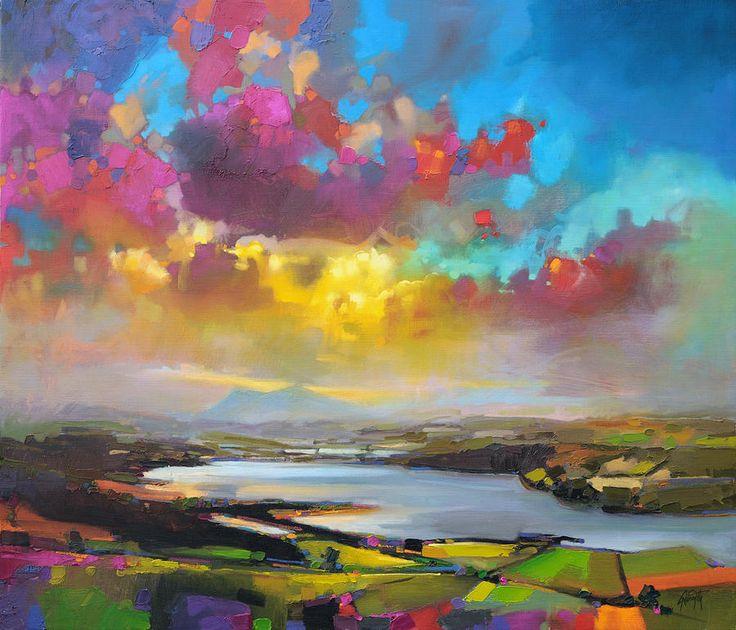 Struie Hill Dornoch Painting