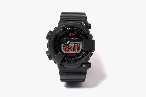 Stussy & A Bathing Ape - Casio G-Shock Frogman Collection