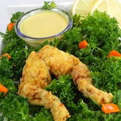 .- Fried Frog's Legs Recipe.... not a lot there but taste is all worth it!