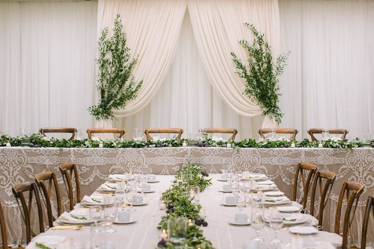 Down The Aisle Head Table Or Sweetheart Table: 17 Best Ideas About Wedding Head Tables On Pinterest