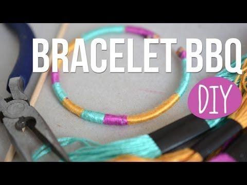 DIY - Faire des Bracelets avec des piques à brochettes - avec, Bracelets, brochettes, Faire, piques