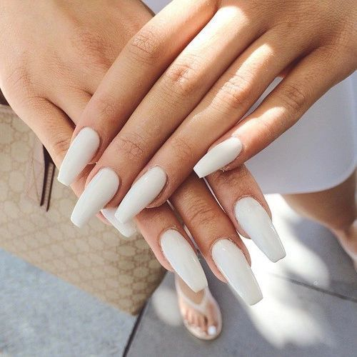 122 Nail Art Designs That You Won T Find On Google Images: 17 Best Ideas About Matte White Nails On Pinterest