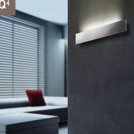 Modern LED wall lights.