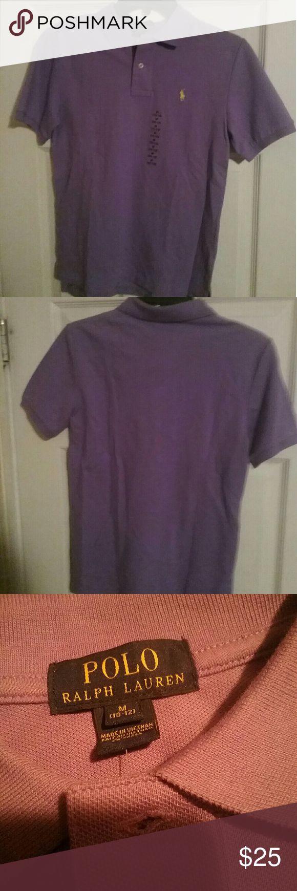 POLO RALPH LAUREN POLO SHIRT YOUTH M 10-12 Light Purple Polo Shirt  Short Sleeve Brand New Never Worn Polo by Ralph Lauren Shirts & Tops Polos