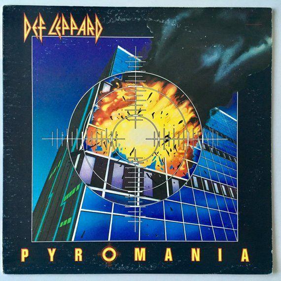 Def Leppard Pyromania Lp Vinyl Record Album Mercury Def Leppard Def Leppard Pyromania Def Leppard Wallpaper