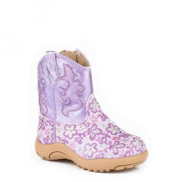 ROPER INFANT COWBABY GLITTER  Dress your little girl up with some glittery cowgirl boots!  $54.95