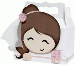 Silhouette Design Store - View Design #73084: cute bride box