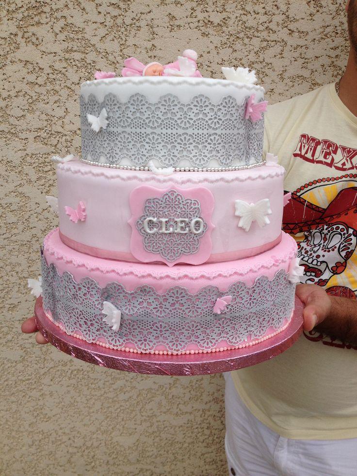 Cake Design Glace Royale
