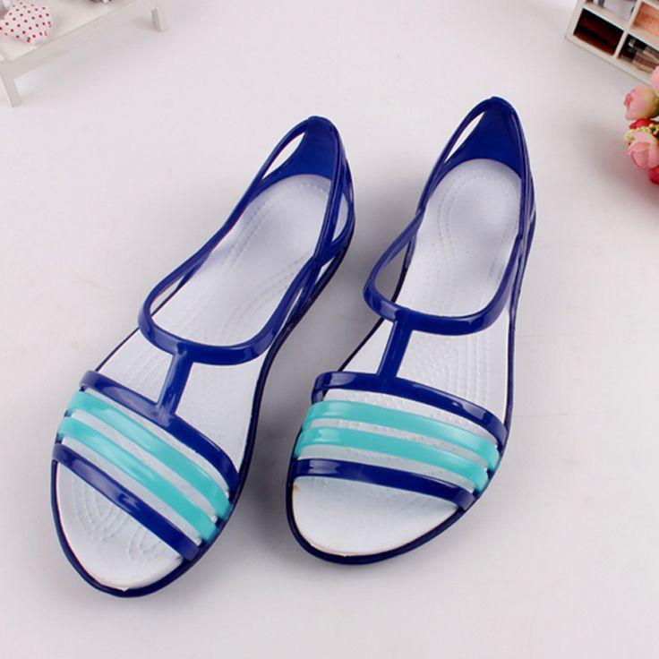 $7.37 (Buy here: https://alitems.com/g/1e8d114494ebda23ff8b16525dc3e8/?i=5&ulp=https%3A%2F%2Fwww.aliexpress.com%2Fitem%2F2017-Fashion-Women-Jelly-Sandals-Mixed-Colors-Cross-Women-Summer-Open-Peep-Toe-Beach-Shoes-Garden%2F32796398007.html ) 2017 Fashion Women Jelly Sandals Mixed Colors Cross Women Summer Open Peep Toe Beach Shoes Garden Sandalias for just $7.37