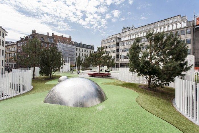 Arkitekturbilleder.dk - Bygningsværk - Hauser Plads