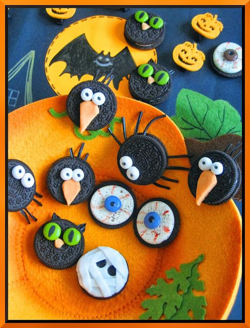saboragalletas: HALLOWEEN-IDEAS CON GALLETAS OREO