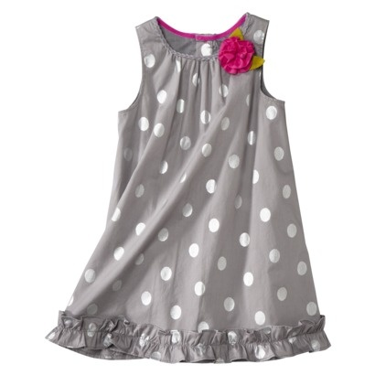 Genuine Kids from OshKosh™ Infant Toddler Girls' Dress - Grey