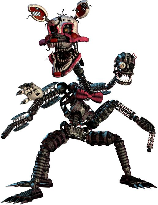 Nightmare Mangle Now This Is Cool And Creepy At The Same