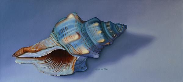 "Still life painting of a shell. Art to decorate the walls in your home, from the bedrooms, dining room, lounge and study...or to spice up your office, waiting rooms and/or reception areas.  Click here -> http://leana-de-villiers.artistwebsites.com/featured/shelter-leana-de-villiers.html to buy an original work of art or print to decorate your walls. ""Shelter"" by South African Artist, Leana de Villiers http://leanadevilliers.com"