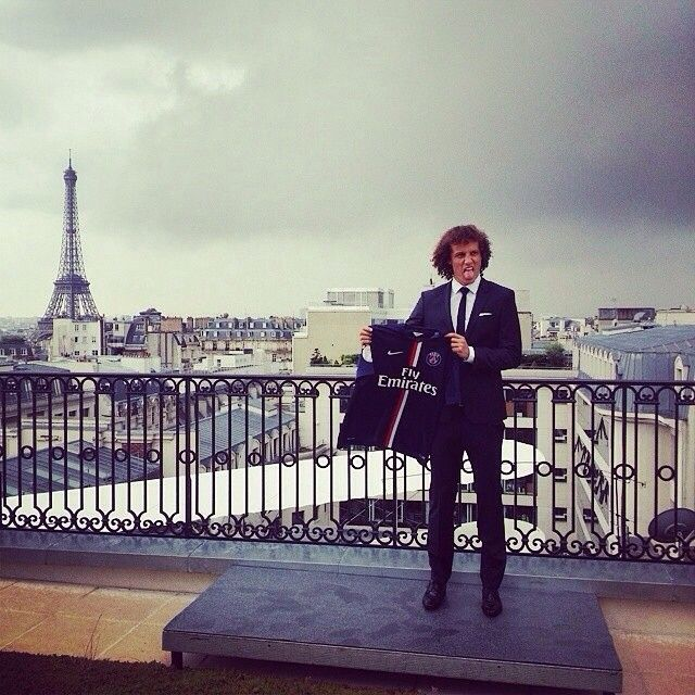 David Luiz ......it's official ! And it breaks my heart my heart watching him leave! But he's always gonna be my love!