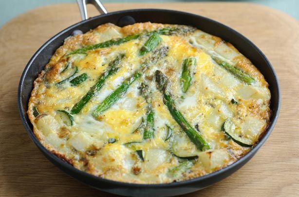 Asparagus tortilla recipe - goodtoknow