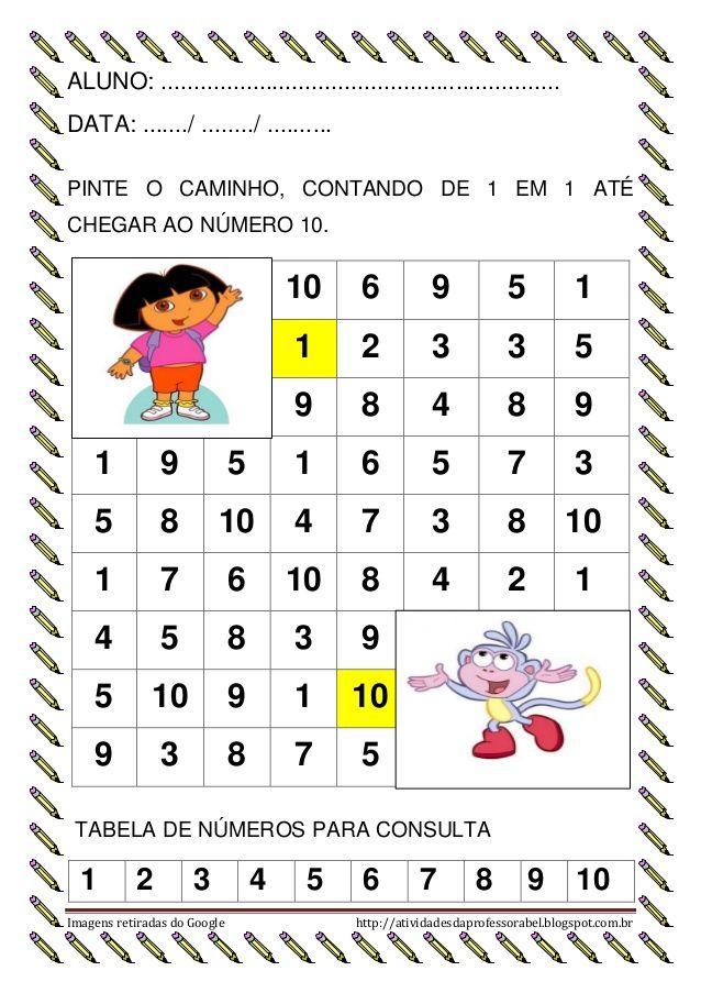 Atividades Atencao Sequencia Numerica 1 Search