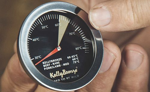 How to cook a KellyBronze turkey.  Video at this link.  Do not cover bird.   Take out when meat thermometer reads 65C.  [Because of rearing these turkeys cook faster than others.  See time estimate for both full birds and crown roasts at this link].