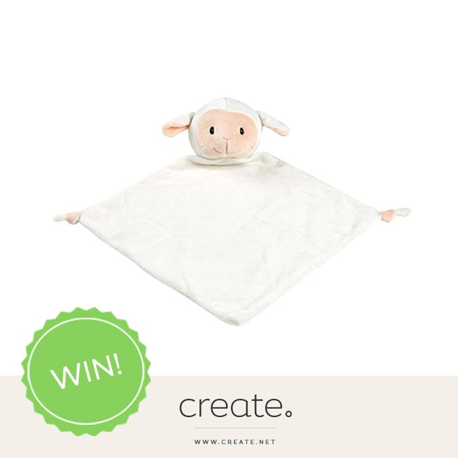 WIN this super cute lamb snuggie blankie from online store The Dandelion Tree with #FreebieFriday! Enter on the Create Facebook page facebook.com/create