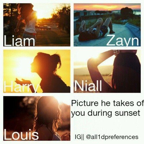 pic he take of u at sunset