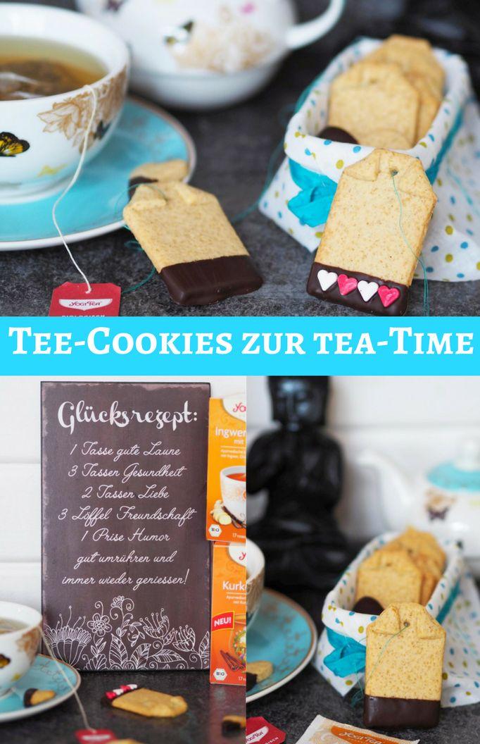 [Werbung] It´s Tea-Time...wer mag auch so gerne Tee? Ich bin ja ein wahrer Viel Tee-Trinker – passende dazu gibt´s diese leckeren Tee-Cookies. Diese Kekse schmecken zum Tee total lecker.  Begleitet mich doch auf die #7minuteschallenge von Yogi Tea. Denn während der Tee 7 Minuten zieht, kann man sich diese Minuten auch einfach mal selber gönnen und abschalten, sich entspannen und mal an nichts denken!!  #yogitea #7minuteschallenge #cookies #kekse