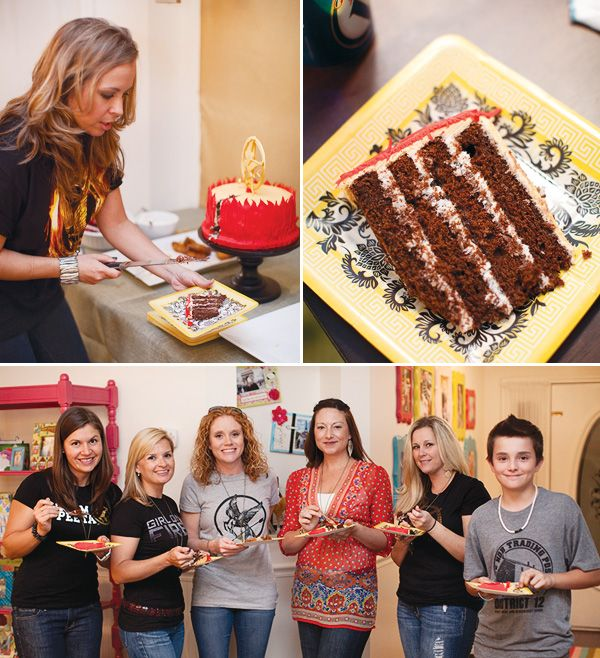Hunger Games Party {Book Club Party} // Hostess with the Mostess®