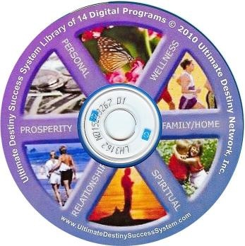 "The Ultimate Destiny Success System CD-ROM includes all 14 stand-alone programs to help you discover and manifest your ultimate destiny (whatever that means to you personally. These interactive ""how to guidebooks"" will  help you ""Solve Life's Ultimate Success Puzzles"" in every area of life including: Realizing Your Potential, Loving Relationships; Attaining Prosperity; Achieving Success; Attaining Enlightenment; Fulfilling Your Purpose;  Peace and Balance; etc."