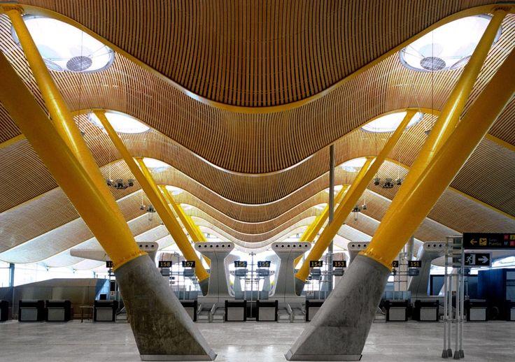 Imagen 1 de 27 de la galería de Terminal del Aeropuerto Madrid-Barajas  / Estudio Lamela + Richard Rogers Partnership. Cortesía de Estudio Lamela + Richard Rogers Partnership