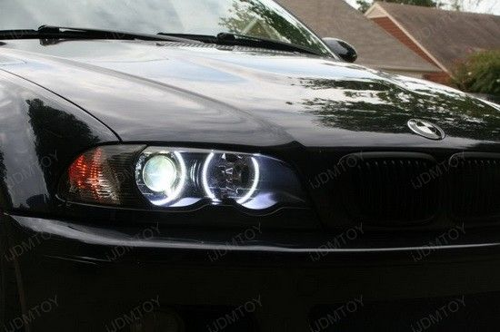 "Check out the super-duper cool 2005 BMW M3 - it has very nice custom BMW LED Halo Rings with stunning ""fade on"" and ""fade off"" effect. These BMW E46 3 series LED Rings are extremely bright and really set this M3 apart from all other bimmers on the street.   @ http://ijdmtoy.com/BLOG/wordpress/2012/06/mean-2005-bmw-m3-shines-with-bmw-led-halo-rings/"