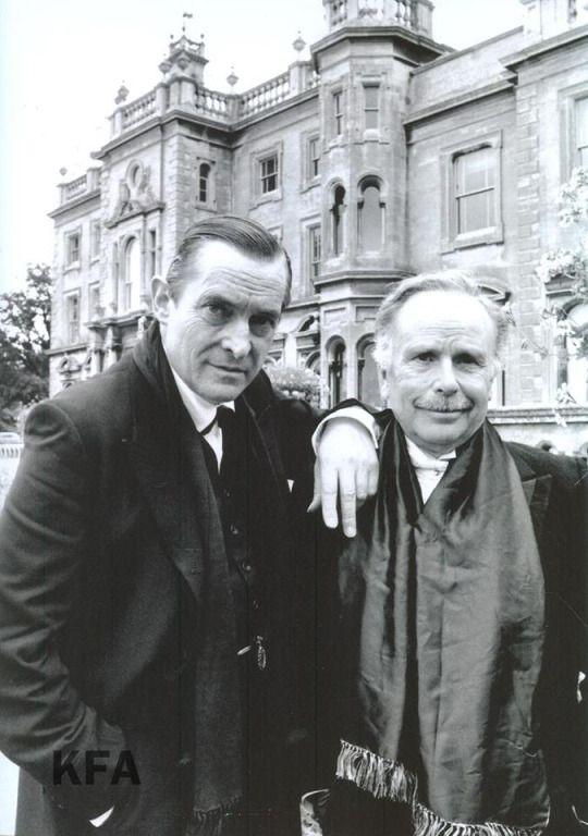 Jeremy Brett and Edward Hardwicke / Holmes and Watson