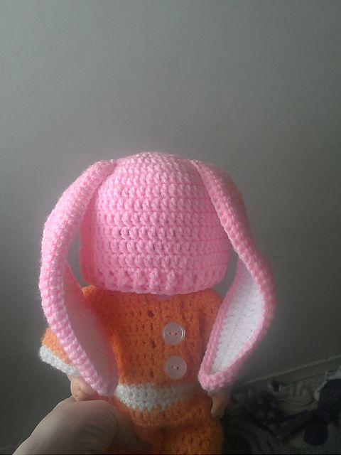 Crochet Bunny Ears Hat Pattern : Ravelry: Floppy Bunny Hat pattern by Girl in Air crochet ...
