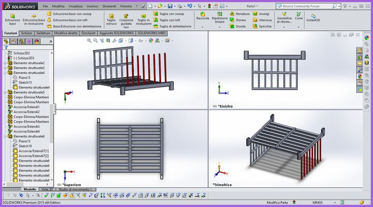 movimentazione industriale e dei magazzini automatici. Next Key è specializzata nella produzione di strutture in acciaio e nella progettazione con CAD 3D