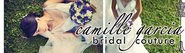 Wedding Gown by Camille Garcia  www.camille-garcia.com