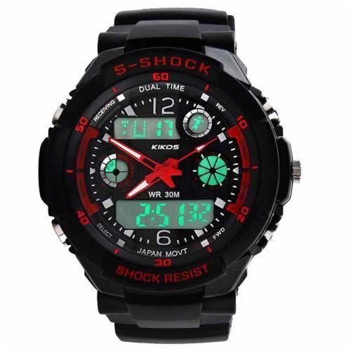 Relógio RK02 - Kikos — Os relógios RK02 são excelentes para acompanhá-lo(a) durante os treinos, permitindo assim que você controle melhor o tempo de cada exercício