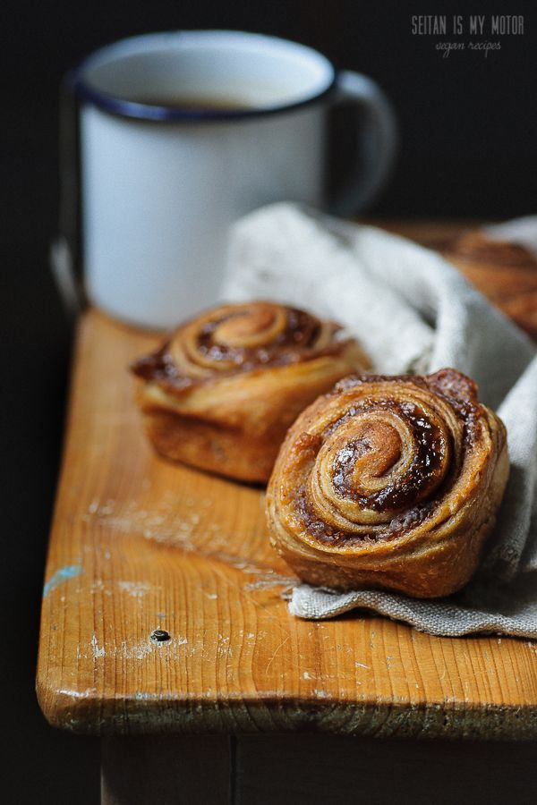 cinnamon buns with a chestnut swirl | seitanismymotor.com (uses chestnut paste / spread)