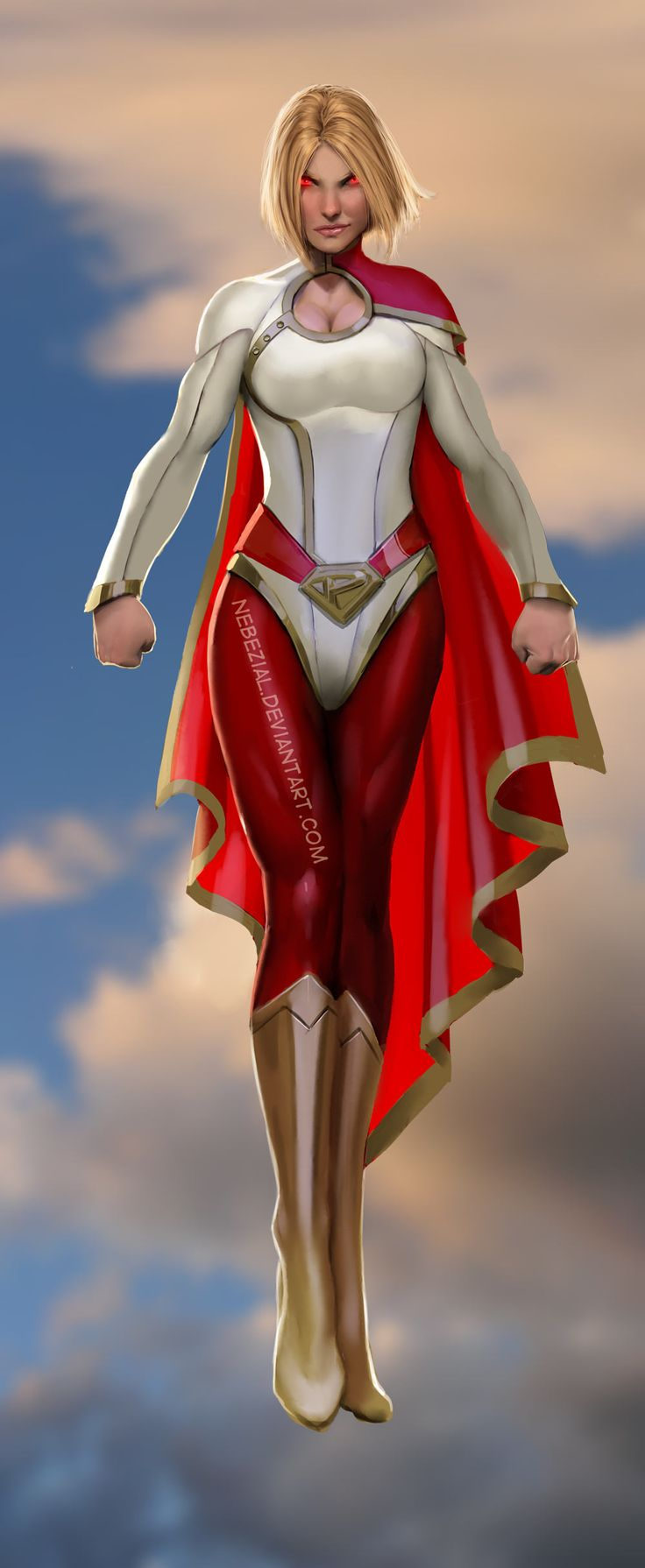 Power Girl (New 52) If this had been the costume they gave ...