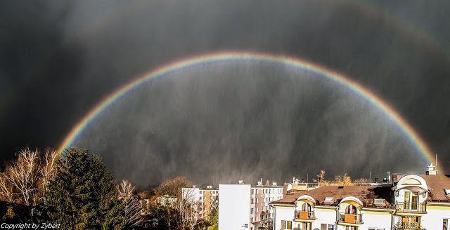 Vihar alatt a szivárvány.... - egy csodálatos pillanat képe