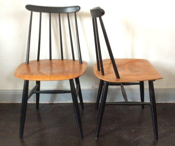 Fyra Fanett-stolar
