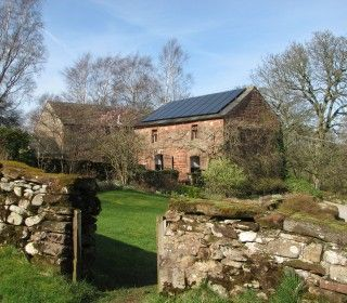 Appleby area - April 5th - visit a hydro-electric system at a 17th century listed watermill providing  hydro-electricity to supply all the energy needs of the house, including heating, although this is also supplemented by solar panels covering the barn roof. The whole property is run on an ethos of sustainability.